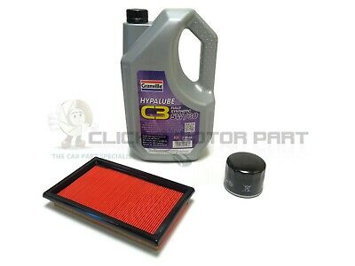 For Nissan Qashqai 1.5 Dci 07-12 Oil Air Filter 5L Synthetic Oil Service Kit