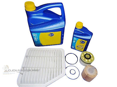 Service Kit Oil Air Fuel Diesel Filter 5W30 Engine Oil For Lexus Is220D Is 220D