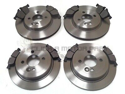 Mini One Cooper S Front & Rear Brake Discs And Pads Set New Kit