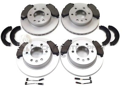 VW VOLKSWAGEN CRAFTER 2.0 TDi & 2.5 TDi FRONT REAR BRAKE DISCS AND PADS & SHOES