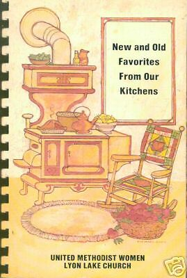 LYON LAKE MI 1983 NEW +OLD FAVORITES FROM OUR KITCHENS COOKBOOK METHODIST CHURCH