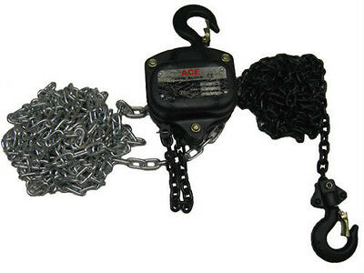 1T Hand Chainblock 3 mtrs Height Of Lift 1.0 - 2.9, Hoist/ Chain Block and Hoist