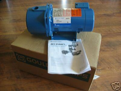 New 3/4 Hp Goulds Water Well Deep Jet Pump Jrd 7