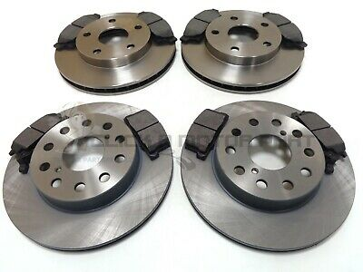Toyota Mr2 2.0 1990-1991 Front And Rear Brake Discs And Pads Set New