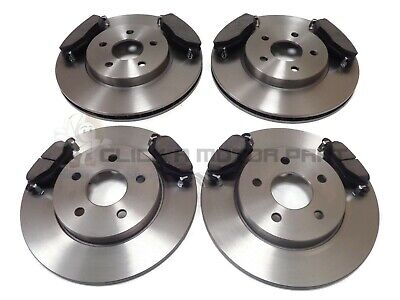 Ford Mondeo Mk3 St220 2001-2004 Front & Rear Brake Discs And Pads Set New