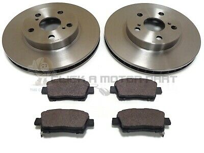 For Toyota Celica Gen6 AT200 1.8 Coupe 110 Front Brake Pads Discs 255mm Vented