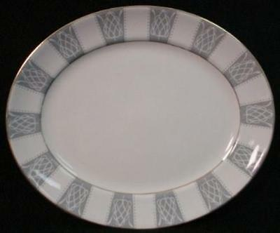 BURGESS & LEIGH china REGENCY Oval Meat Serving Platter