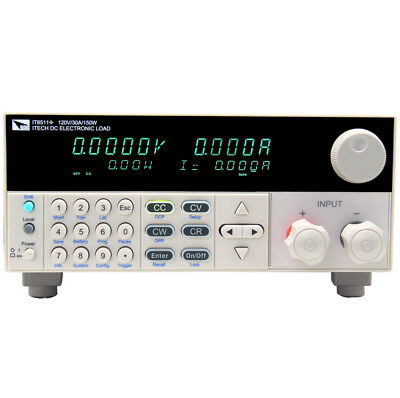 New ITECH IT8512C+ single-channel programmable DC electronic load 120V/60A/300W