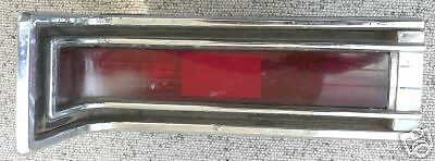 1963 Buick Electra LH Tail Light Assembly