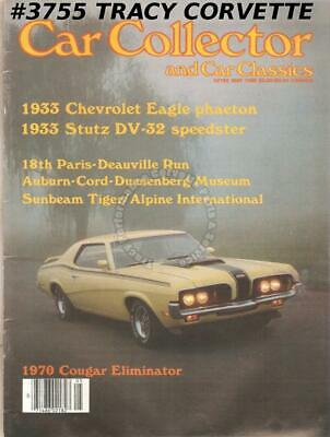May 1985 Car Collector Car Classics 70 Cougar Eliminator 33 Chevy Eagle Phaeton