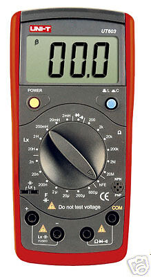 UT603 Modern Inductance Capacitance Meters LCR diode bu