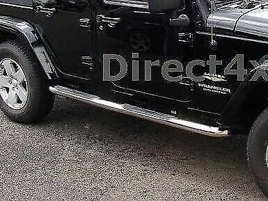 Jeep Wrangler 4 Door Unlimited Side Bars And Steps Exterior Replacement
