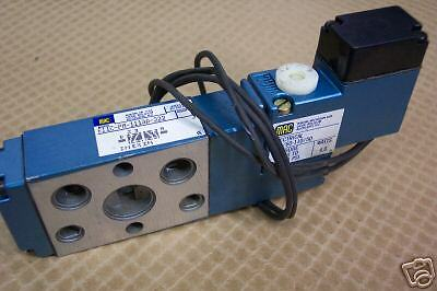 Mac 811C-Pm-111Aa-222 Pneumatic Solenoid Valve   New Condition / No Box