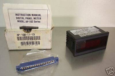 Asahi Keiki Model Ap-102-11-13 Digital Panel Meter New Condition In Box