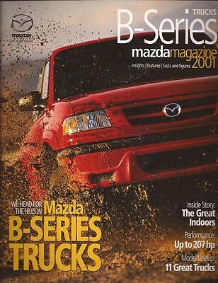 2001 01 Mazda Pickup  original sales brochure mint