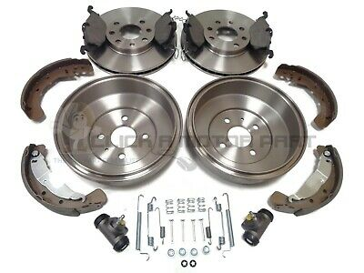 Vauxhall Astra 1.6 Front Discs Pads 256mm Rear Shoes Drums 230mm 83BHP Estate