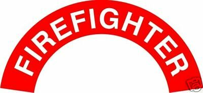 Reflective One Pair of Fire Firefighter Rockers Sticker