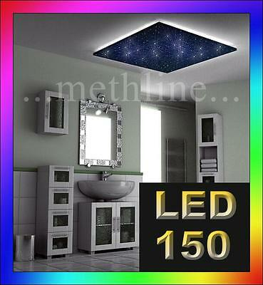 sternenhimmel glasfaser 100 lichtfasern 1mm led sauna badezimmer fernbedienung. Black Bedroom Furniture Sets. Home Design Ideas
