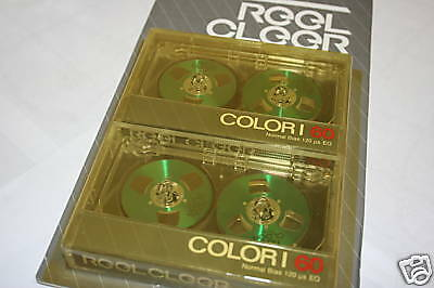 Green Reel to Reel Cassette Tapes