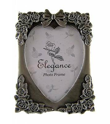 Pewter Photo Frame Bomboniere Favour FREE LOCAL POST