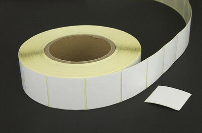 2000 Checkpoint®  System Compatible 8.2 RF Label 3x3cm size, Plain White 1 Roll