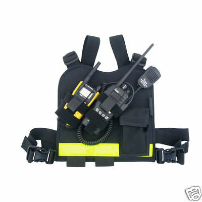 Paramedic/EMT/Firefighter Radio Chest Harness-Motorola