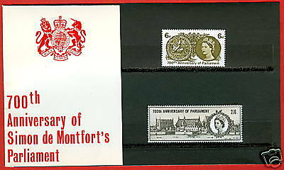 1965 700th Anniversary of Parliament Presentation Pack