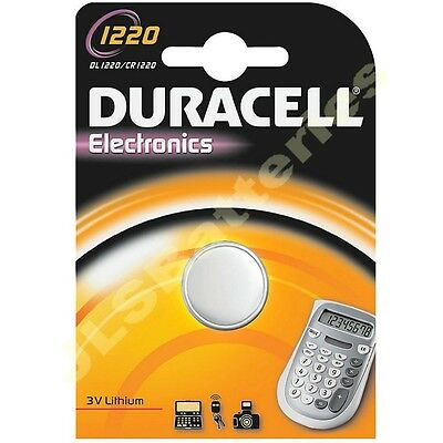 DL1220 DURACELL Lithium Battery   CR1220 1220 KCR1220