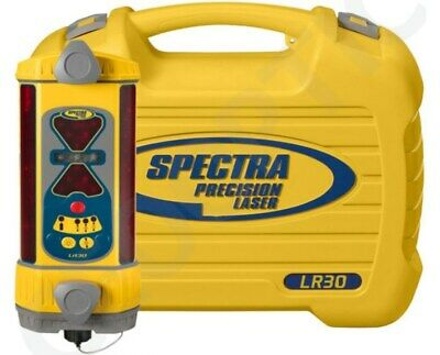 Spectra LR30-1 Machine Control 360 Degrees Laser Receiver, Hard carry case!