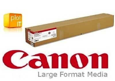 """Canon Wideformat SATIN inkjet Paper 190grm 36"""" 914mm x 30m also fits Epson or HP"""