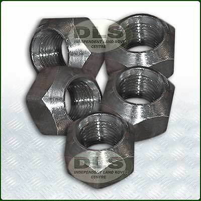 "27mm (1.1/6"") Steel Wheel Nut Set of 5 Land Rover Series, Defender (RRD500010)"