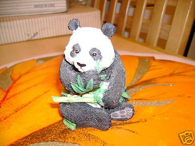 BABY PANDA BY WESTLAND GIFTS ALL HAND PAINTED 4 INCHES TALL