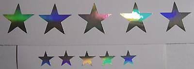Guitar Fretboard Stars Decals Dot Markers Vinyl Decal Dress up your old Guitar