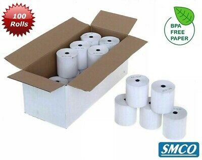 SMCO  57X40 57 x 40 Thermal rolls PDQ credit card QTY 100