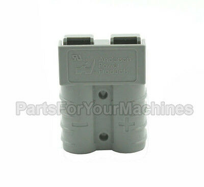 Connector Housing (Contacts Not Included), Sb50A 600V, Anderson, Small Gray