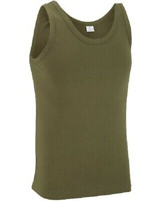 New Sleeveless Vest Mens Military Camouflage Tank Top Green T Shirt Army Combat