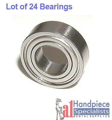 Smooth Dental Bearings for Midwest Turbine - Lot of 24