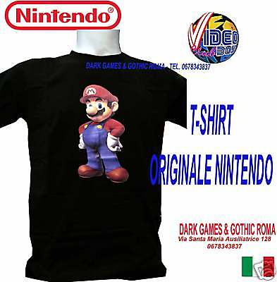 "T-Shirt Originale Super Mario Bross  Taglia ""m"" Medium"