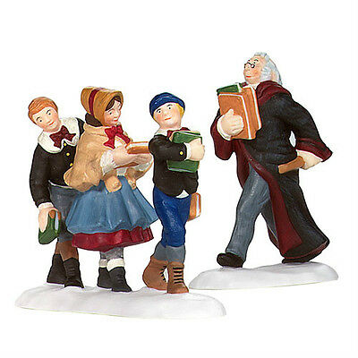 Dept 56 Dickens FOLLOWING THE LEADER SET/2 NIB