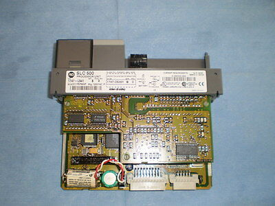 Allen Bradley Slc 500 1747-L541 Ser B Frn 9 Cpu Module Missing Door  >