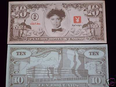 Playboy Casino AC Fun Nite $10 paper bill - read on...