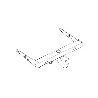 Westfalia Towbar for Volkswagen Caravelle 2003-2015 - Swan Neck Tow Bar