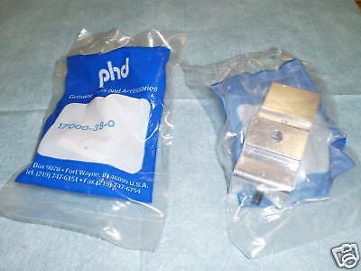 Lot of PHD Pneumatics Model: 17000-38-0 Brackets, 5 <