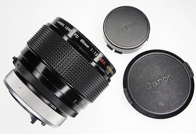 Canon FD 85mm f1.2  S.S.C. ASPHERICAL #13576