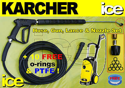 Replacement Hose Trigger Gun Lance Nozzle Assembly Karcher Hd5/11 5/12 6/12 6/13