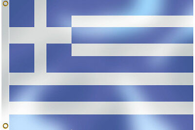 Large 5Ft X 3Ft (15 Square Feet) Fabric Flag Of Greece European Themed Events