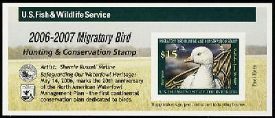 US.# RW73A  Federal Duck Stamp MINT POST OFFICE FRESH!