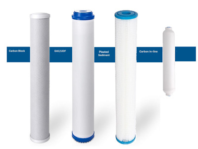 """14 Reverse Osmosis Drinking Water 20"""" Filters/inline"""