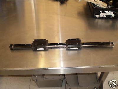 "Thomson 23.5"" Linear Rail w/ two AT25E+29-04 Carriages<"