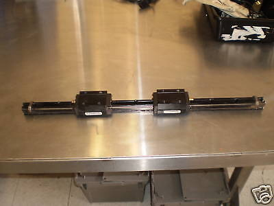 "Thomson 22 3/4"" Linear Rail w/ 2 AT25E+01+01 Carriages<"